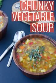 chunky vegetable soup recipe delish
