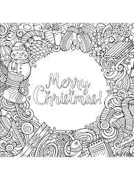 Kids N Fun Kleurplaat Kerstmis Voor Volwassenen Merry Christmas