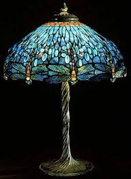 tiffany lamp stained glass table lamp