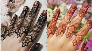 finger mehndi design simple photo