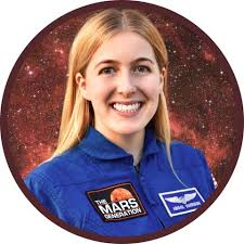 """Abigail Harrison on Twitter: """"Finally: The future of #space is female!  Check out my story & learn how I and two other inspiring women,  @AstroStarBright and @NASA's Jessica Watkins, are working towards"""