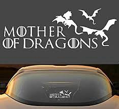 Amazon Com 9 Game Of Thrones Mother Of Dragons Car Window Laptop Vinyl Decal Sticker Everything Else
