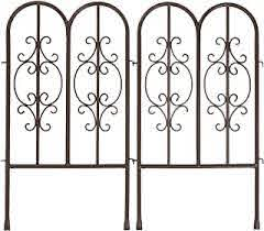 Amazon Com Decorative Fences Wrought Iron Decorative Fences Outdoor Decor Patio Lawn Garden
