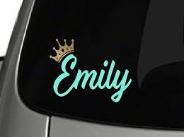 Custom Name Decal Yeti Decal Car Decal Personalized Name Yeti Decals Car Decals Etsy