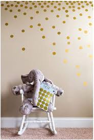 Amazon Com Posh Dots Metallic Gold Circle Wall Decal Stickers For Festive Baby Nursery Kids Room Trendy Cute Fun 200 Decals Vinyl Removable Round Polka Dot Decor Safe For Wall Paint Confetti Home