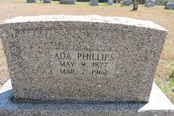 Ada Phillips (1877-1962) - Find A Grave Memorial