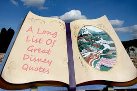 a long list of great disney quotes the undateable girl s diary