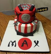 12 Ninja Themed Birthday Cakes Photo - Ninja Birthday Cake, Red ...