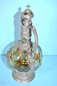amber glass pewter