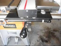Vega Pro 50 Table Saw Fence System 42 Inch Fence Bar 50 Inch To Right Youtube