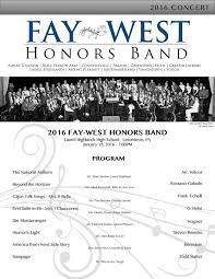 FayWest Honors Band - Publications | Facebook