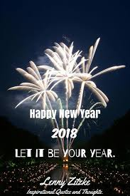 happy new year inspirational quotes and thoughts by lenny
