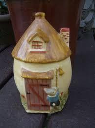 "Priscilla Harrison~Chalkware 6"" Tall Bunny Cottage~2001 | #327890471"