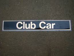 King Of Carts Club Car Precedent Emblem Decals Graphics