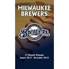 mlb milwaukee brewers pocket planner