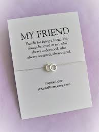 distance quotes best friend necklace solid sterling silver