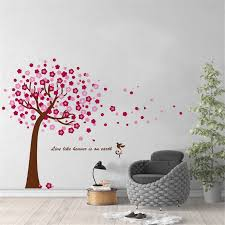 Large Tree Decals Huge Tree Decal Nursery With Birds White Wall Tattoos Wall Mural Removable Vinyl Wall Sticker We41 Wall Stickers Aliexpress
