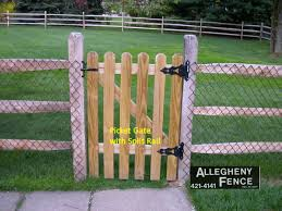Pittsburgh Residential Wood Fence Allegheny Fence