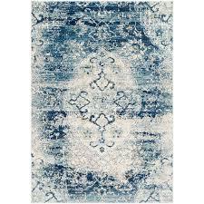 fl navy blue area rug