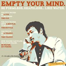 """empty your mind """" bruce lee x oc os dearquote"""