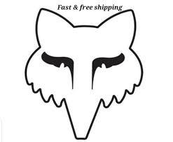 Fox Racing Decal Mx Motocross Fox Racing Die Cut Vinyl Decal Sticker Car Truck Hd Bau Co At