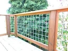 Hog Panel Deck Railing Fence S Home Depot Ideas Of Cattle Wire Cattle Deck Depot Fence Deck Railings Building A Fence Backyard Fences
