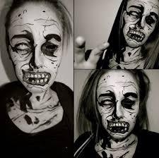 amazing zombie makeup artist who