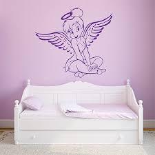 Tinker Bell Angel Pink Vinyl Wall Art Decal