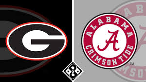 Alabama vs Georgia - Saturday 10/17/20 ...