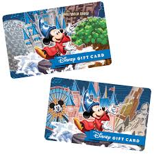 disney park themed disney gift cards