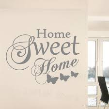 Family Love Vinyl Wall Art Stickers Quotes Home Sweet Home Words Wall Decals Living Room Butterfly Decoration Bedroom Mural Stickers For Wall Decoration Stickers For Walls From Joystickers 11 67 Dhgate Com