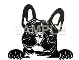 French Bulldog Vinyl Decal Car Truck Window Sticker Any Color Ebay