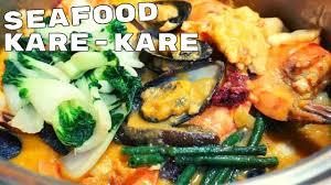 How to Cook Mixed Seafood Kare-Kare ...