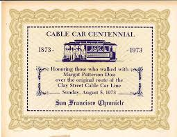 The Cable Car Home Page - Cable Car Transfers