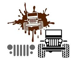 Check Out My New Jeep Decals Choose From Jeep Mud Splash Decal A Jeep Grill Decal Or Just A Jeep Decal Have Almos Jeep Life Decal Jeep Stickers Jeep Decals