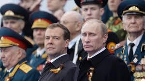 Did Dmitry Medvedev resign or was he pushed by Vladimir Putin?
