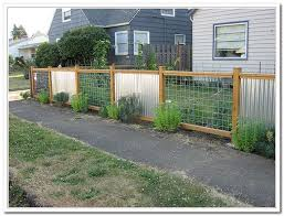 Corrugated Metal Fence Ideas Corrugated Metal Fence Privacy Fence Landscaping Fence Design