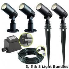 techmar alder garden led spotlight kit