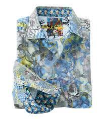 Robert Graham Oasis Floral Long Sleeve Sport Shirt