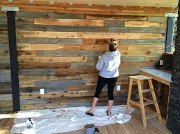 Diy Wall Decor How To Make A Feature Wall With Your Fence
