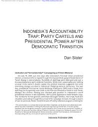 pdf s accountability trap party cartels and