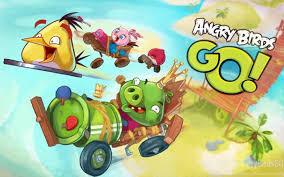 Angry Birds Go! Desktop Background