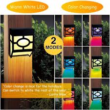 10 Best Solar Fence Lights Reviews And Buying Guide