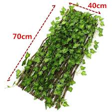 Lila Ready Expandable Artificial Faux Ivy Leaf Hedge Panels On Roll Garden Screen Fence Shopee Philippines