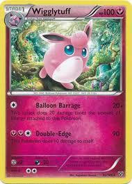 Pokemon Trading Card Game XY Base Set Single Card Rare Wigglytuff 90 -  ToyWiz