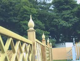 One Of Our Teardrop Fence Finials Allan Calder S Ltd Unit 2b Churnet Works James Brindley Road Leek Staffordshire S Finials Wooden Fence Staffordshire