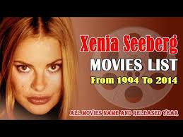 Xenia Seeberg Movies List 1994-2014 ( Global Celebrity ) - YouTube
