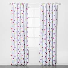 Dot Blackout Curtain Panel Pillowfort Cool Curtains Panel Curtains Polka Dot Curtains