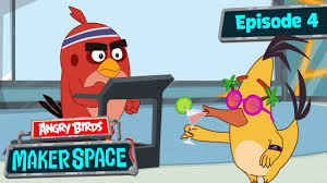 Angry Birds MakerSpace | Step Tracker Challenge! - S1 Ep4 - YouTube