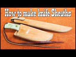 knife sheath making part 3 how to